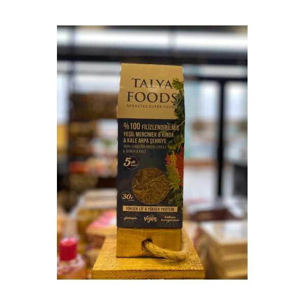 Talya Foods Filizlenmiş Yeşil Mercimek & Kinoa Şehriye 200g