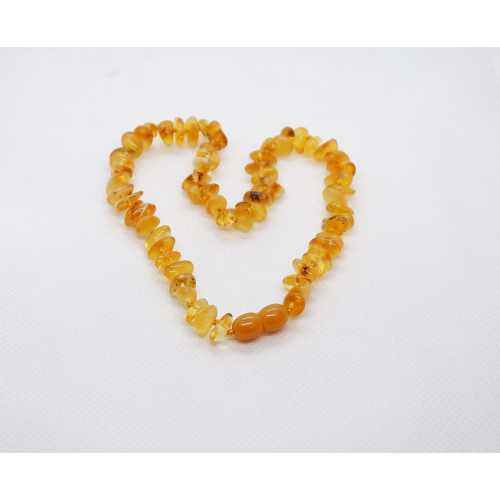 Kehribar Bebek Diş Kolyesi Damla Kehribar Natural Amber Şifalı taş