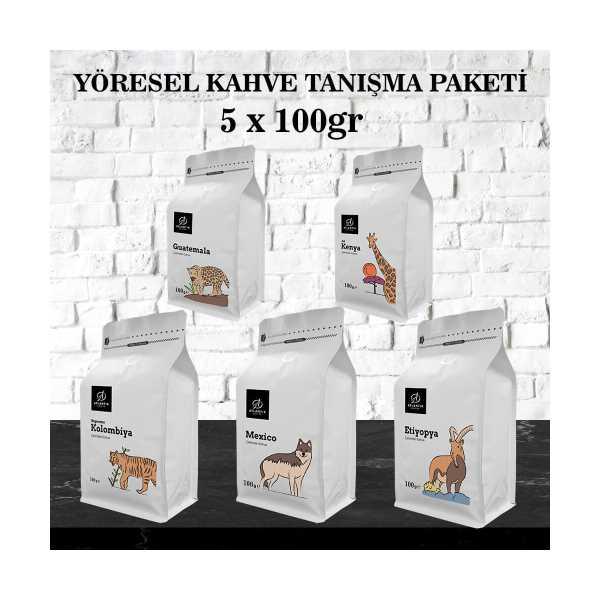 ATLANTİK FİLTRE KAHVE TANIŞMA PAKETİ 5X100GR
