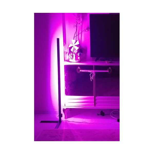 LED Lambader Köşe Aydınlatma Kumandalı 16 Renk