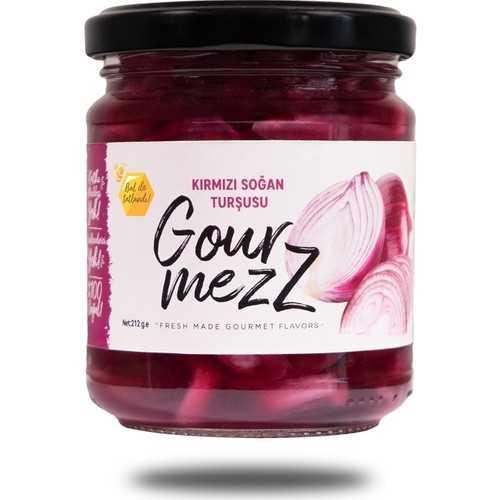 Gourmezz Kırmızı Soğan Turşusu 212 gr