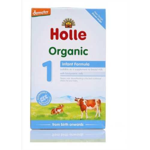 HOLLE ORGANİK BEBEK SÜTÜ  1 NUMARA  400 gram ( 0-6 ay)-Doğal sağlık ürünleri