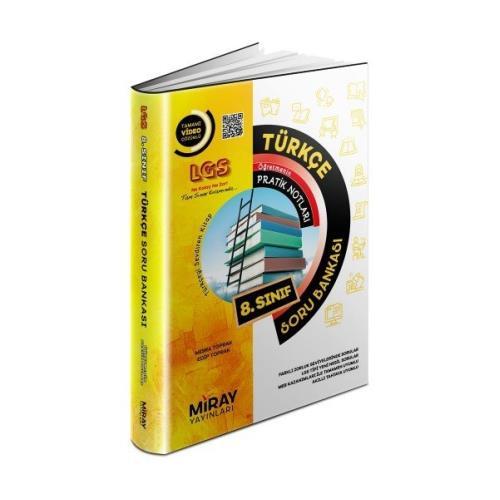Miray Yayınları LGS 8. Sınıf Türkçe Soru Bankası 2022 Miray