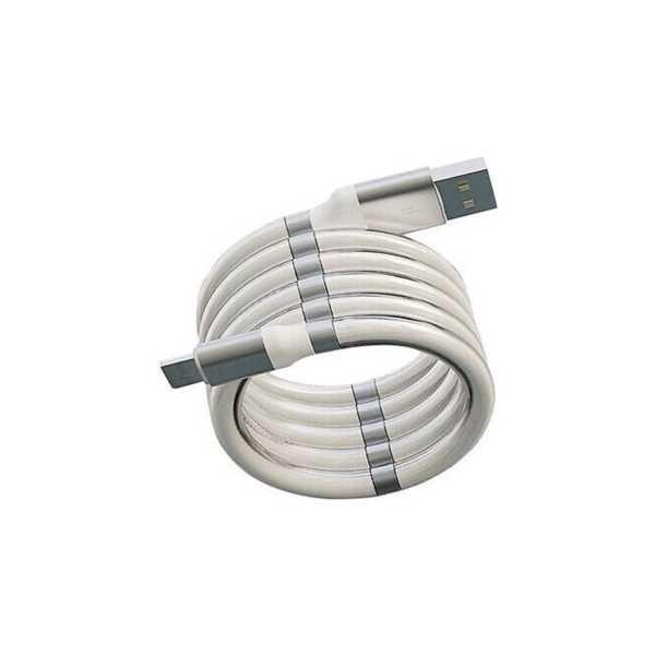 Subzero CL62 2.4A Micro Mıknatıslı Sargılı Usb Kablo.jpg