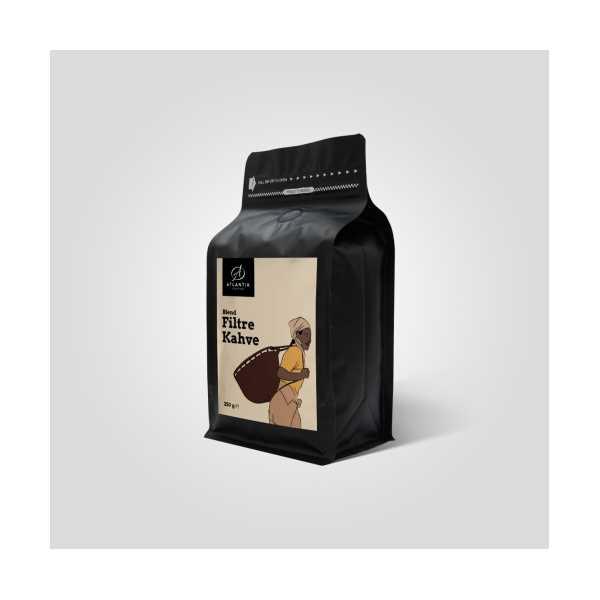 Atlantik Coffee Filtre Kahve Blend 25O GR
