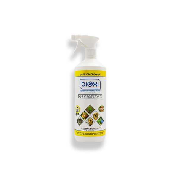 Bioxi® Veteriner ve Hayvan Dezenfektanı 1LT /Hipokloröz asit (HOCl) bazlı