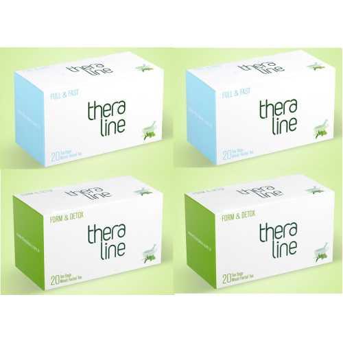 Theraline Bitki Çayı Form Detox + Full Fast ( 2+2 Kutu )