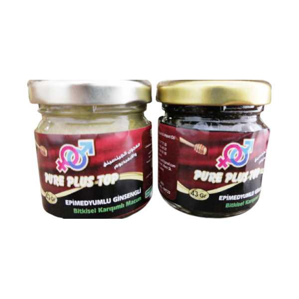 Epimedyumlu Ginsengli Bitkisel Karışımlı Macun  Pure Plus Top