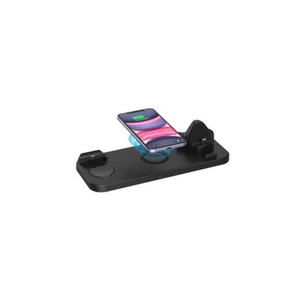 marstec 6 In 1 Kablosuz Stand Hızlı Şarj Cihazı Samsung Iphone