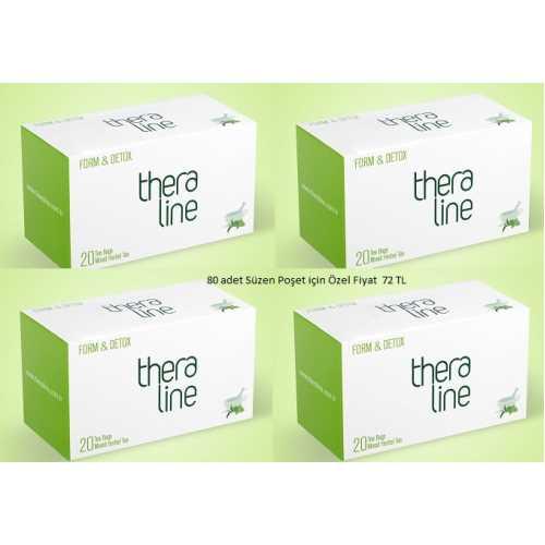 Theraline Form Detox Bitki Çayı ( 4 Kutu )