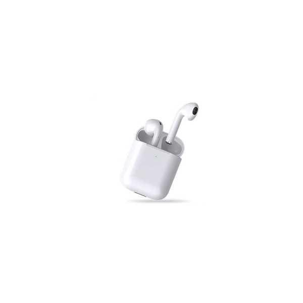 Hytech Beyaz Mobil Telefon Uyumlu Bluetooth TWS 10  Mikrofonlu Kulaklık