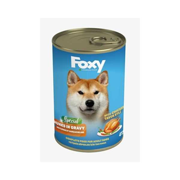 FOXY Köpek Maması 415 Gr (TAVUKLU)