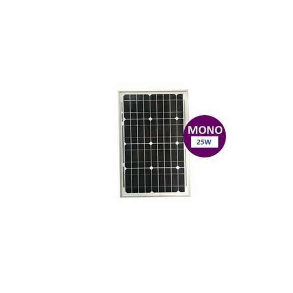 25 Watt Monokristal Güneş Paneli