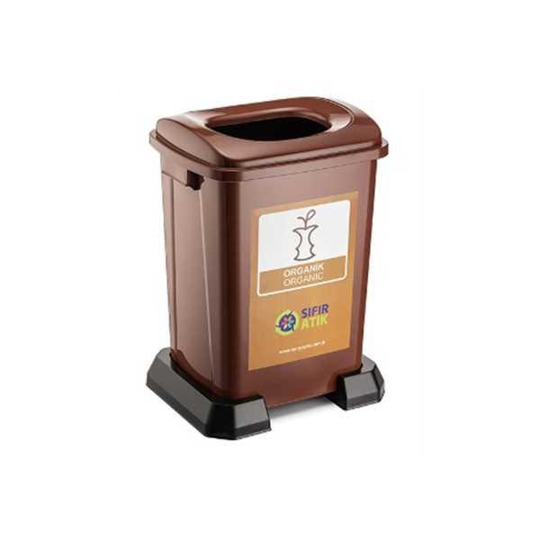 Sıfır Atık Projesi Organik Atık Kutusu 50 lt
