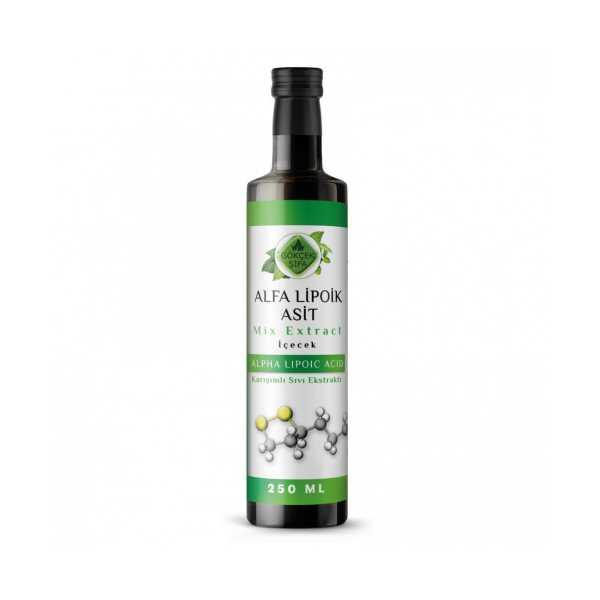 Alfa Lipoik Asit Mix Extract 250 ml.