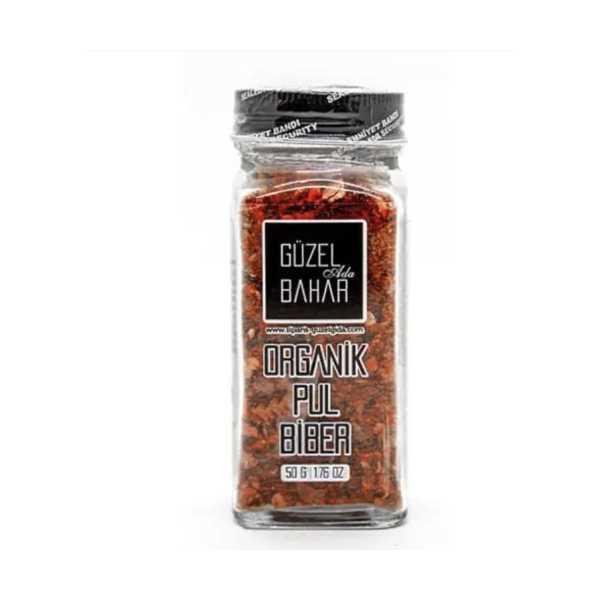 Güzel Gıda 50 gr Organik Pul Biber