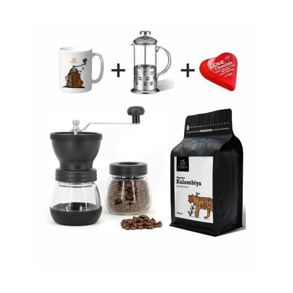 Atlantik Coffee Tanıtım Özel Taze Kahve Hazırlama Paketi