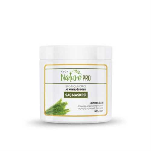 Avon Nature Pro Saç Güçlendirici At Kuyruğu Otlu Saç Maskesi