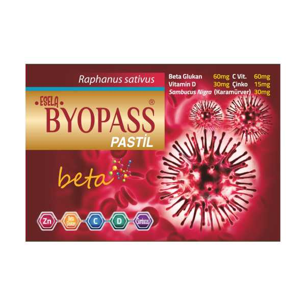 ESELA BYOPASS beta PASTİL  (1 kutu=12 tablet)
