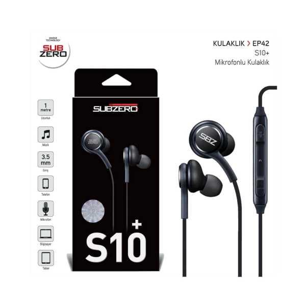 Subzero S10+ Mikrofonlu Kulak İçi Kulaklık