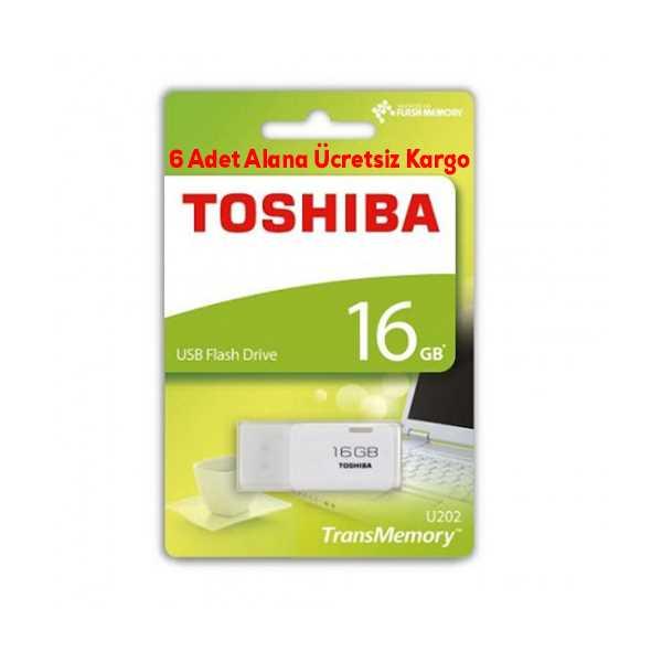 TOSHİBA 16GB USB2.0 (HAYABUSA) BEYAZ FLASH BELLEK