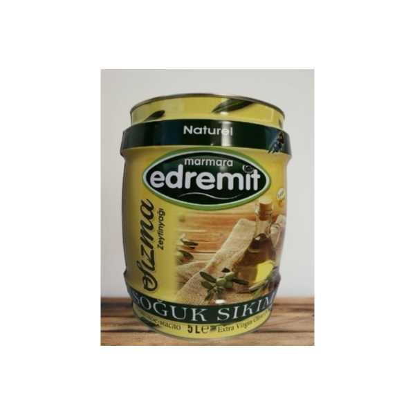 5 LT  Edremit Soğuk Sıkım Zeytinyağı