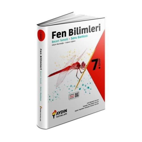 Aydın Yayınları 7.Sınıf Fen Bilimleri Beceri Temelli Soru Bankası 2022 Aydın
