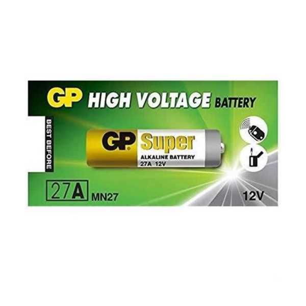 GP 27A-12V Yüksek Voltaj Alkalin Pil