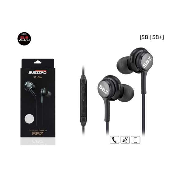 Subzero S8/S8+ Mikrafonlu kulak içi kulaklık