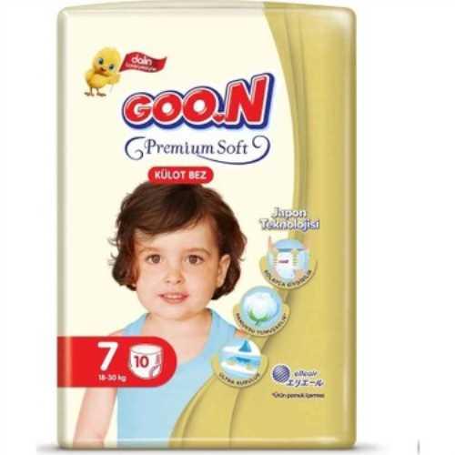 Goon Premium Külot Bez İkiz Paket 7 Beden 10 Adet