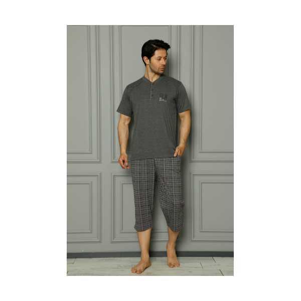 Alimer Erkek Kısa Kollu Pijama Takımı