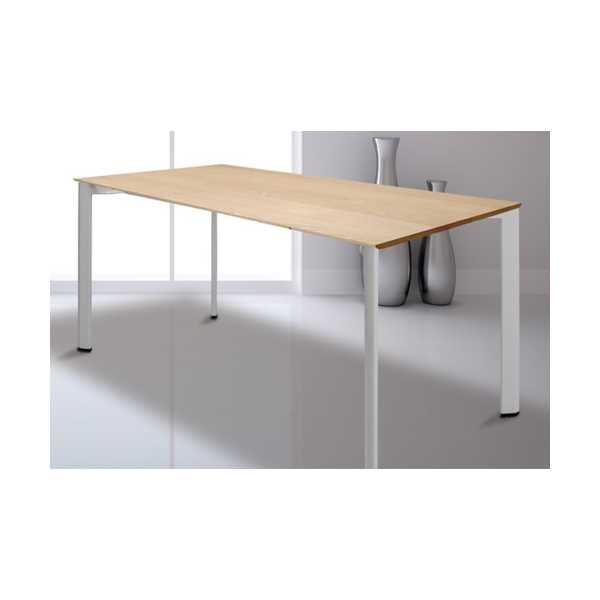 Çalışma Masası Ahşap Tablalı Beşgen Ayaklı 69x139 cm