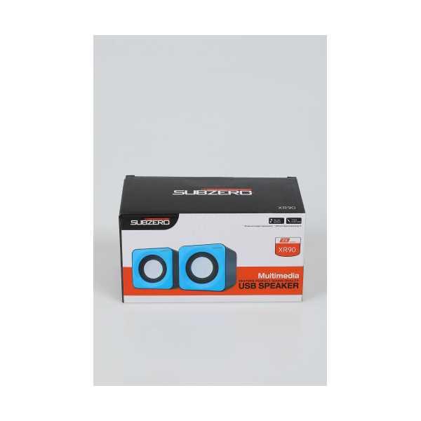 SİYAH SUBZERO XR90 USB HOPARLÖR 424306
