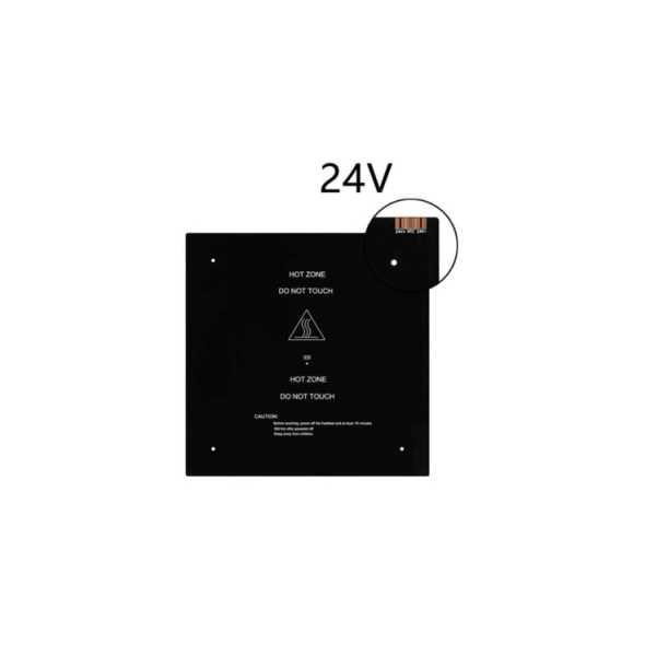 MK3 ISITICI TABLA 214X214 MM 12V/24V