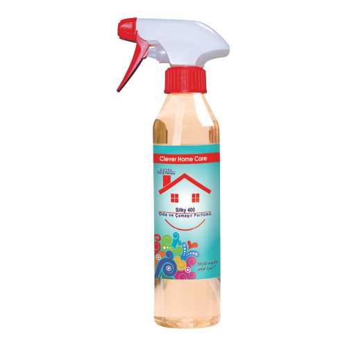 Clever Home Care Silky Oda ve Çamaşır Spreyleri / Blue Misk Koku 500 ml