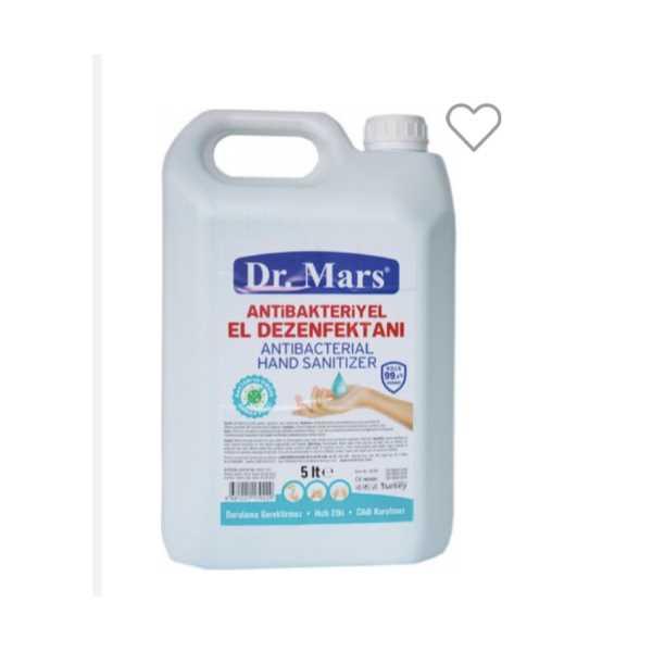 DR MARS EL DEZENFEKTANI 5LT RAMAZAN KAMPANYASI