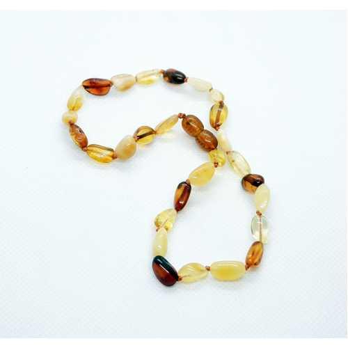 Kehribar Bebek Diş Kolyesi Damla Kehribar Natural Amber Şifalı taş Anne Bebek
