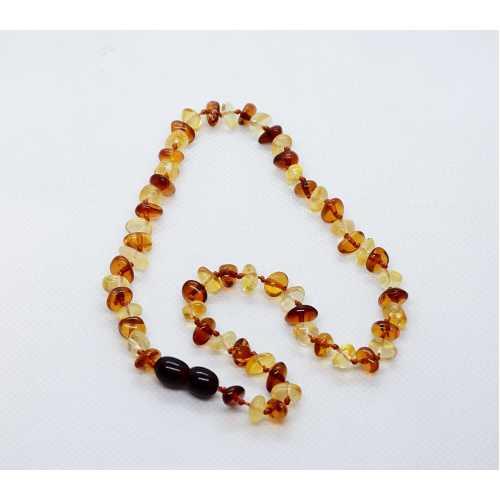Kehribar Bebek Diş Kolyesi Damla Kehribar Natural Amber Şifalı taş Gümüş Akçe