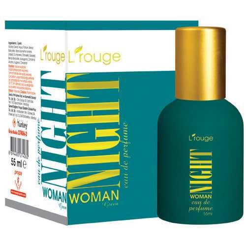 L'ROUGE NİGHT WOMAN GREEN PARFÜM 55 ML