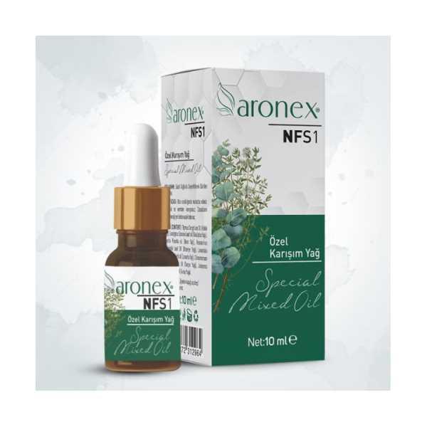 Aronex NFS1 Özel Karışım Yağ 10 ML(Tat ve Koku Kaybı İçin Kullanılır)