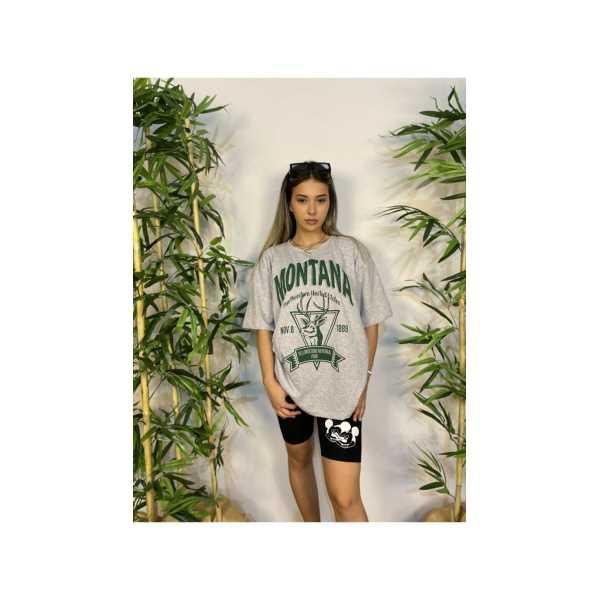 Montana Oversize Kadın T—shirt Montana Oversize Kadın T—Shirt