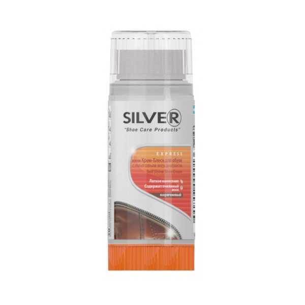Silver Ayakkabı Boyası 30 Ml Kahverengi 6 Adet
