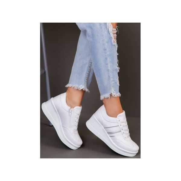 ayakkabı havuzu- Kadın Spor Ayakkabı - Beyaz