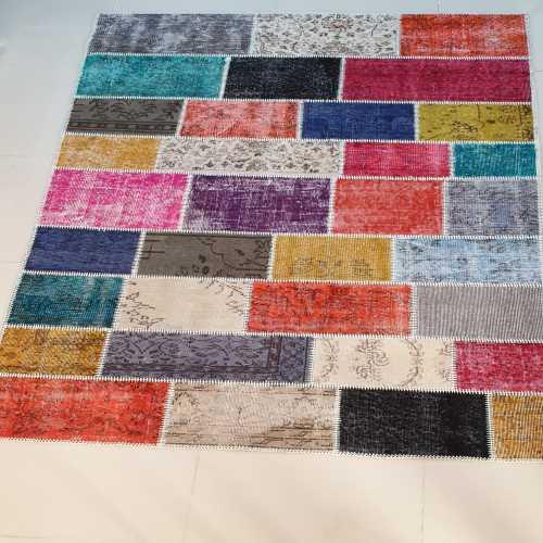 Cengiz halıcılık patchwork halı 160*230 cm