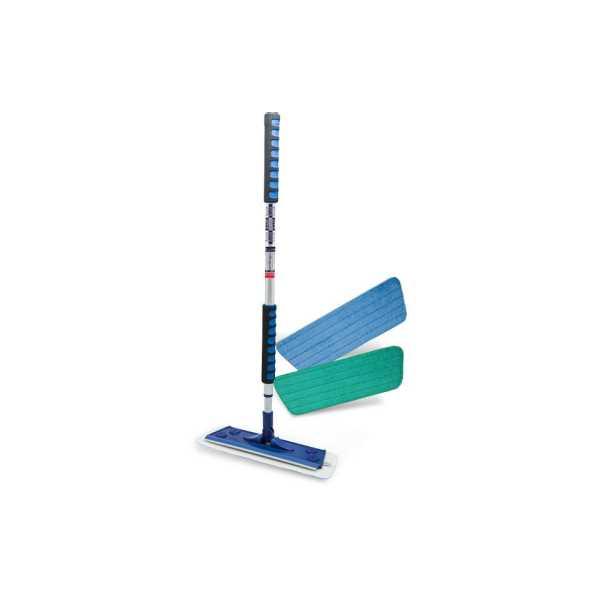 SİLVA Mikrofiber Mop ikili Set (ıslak-Kuru)