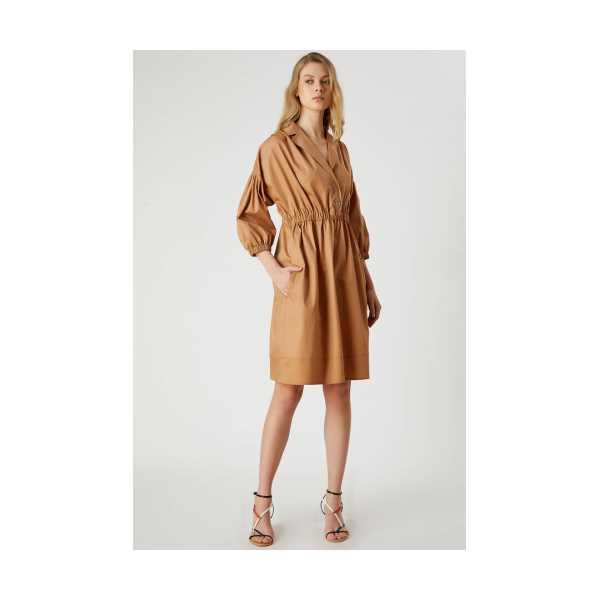 Class Giyim Fever Beli Lastikli Anvelop Elbise