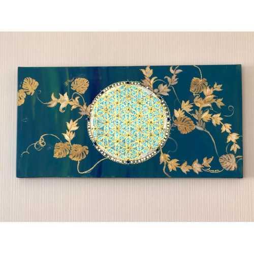 """Mandala Tablo - """"Yaşam Çiçeği"""""""
