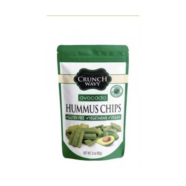 Crunch Wavy Glutensiz Avokado Aromalı Nohut Cipsi 85 Gr