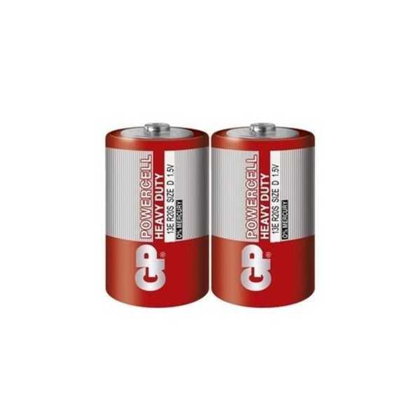 Gp Powercell R20 Büyük Boy Çinko Pil 2'li