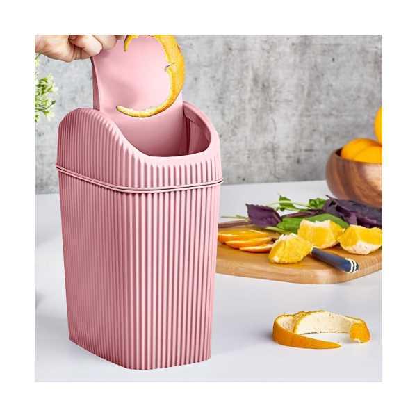 Döner Kapaklı Mini Çöp Kovası 2.5 LT